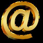 at symbol, email