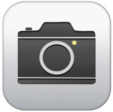 camera icon iphone