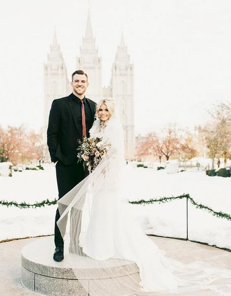witney carson instagram wedding