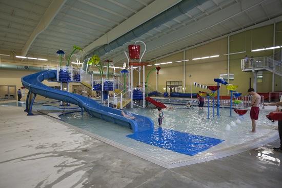 Bentonville Community Center pool