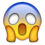 emoji scared