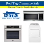 Huge appliance sale at Metro starts today
