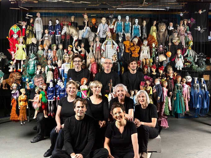sound of music, puppets