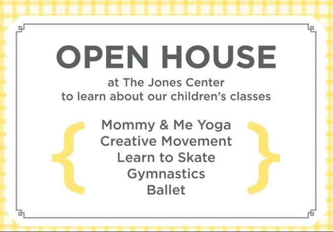 Jones Center open house