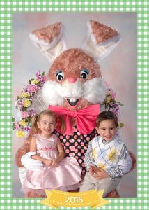 easter bunny at nwa mall