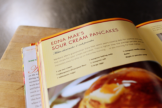 Edna Mae's Sour Cream Pancakes, adapted