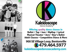 Kaleidoscope ad graphic