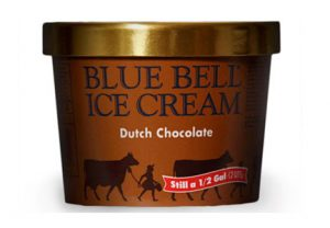 blue bell chocolate ice cream
