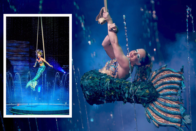 mermaid, cirque italia