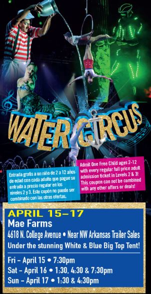 water circus flyer