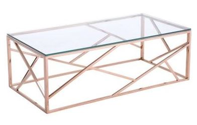Rose gold table, Home Depot