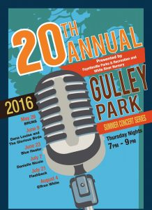 gulley park concert series 2016