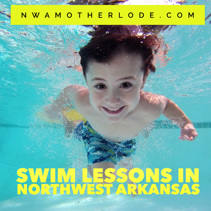 Northwest Arkansas Swim Lessons, 2017