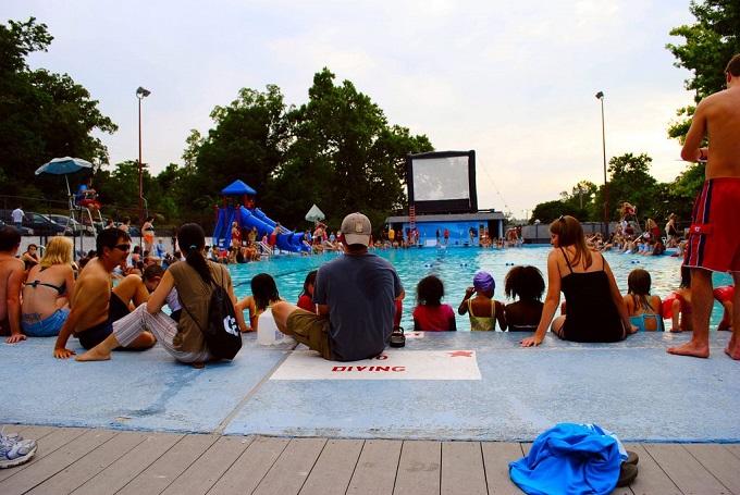 Outings under 20 nwa pool movie nights rhm storytimes - Dive in movie ...