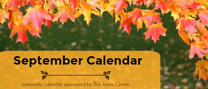 September calendar slider