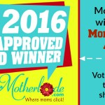 Voting is about to close for the 2016 Mom-Approved Awards!