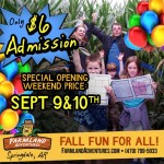 It's Opening Weekend at Farmland Adventures: Everything you need to know before you visit!