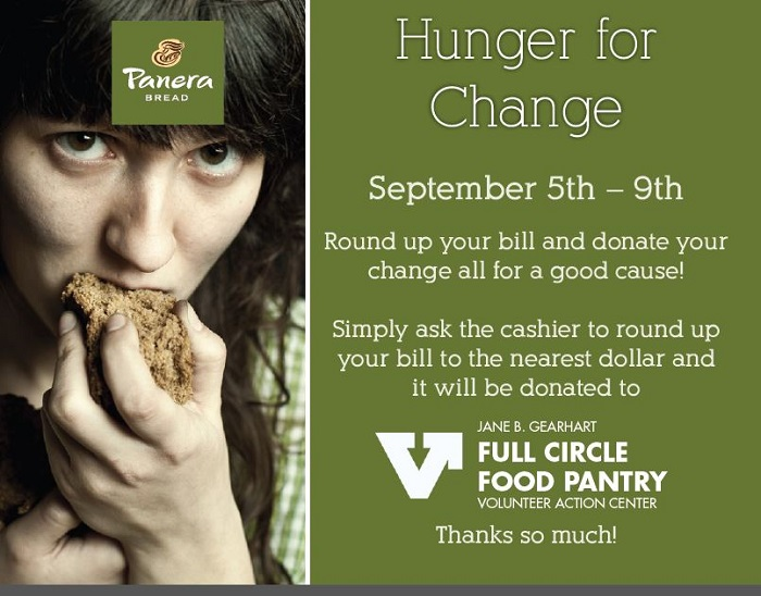 Hunger for Change at Panera