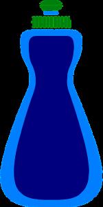 dish soap blue