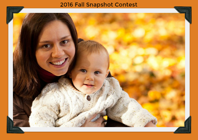 Fall Snapshot Contest starts today