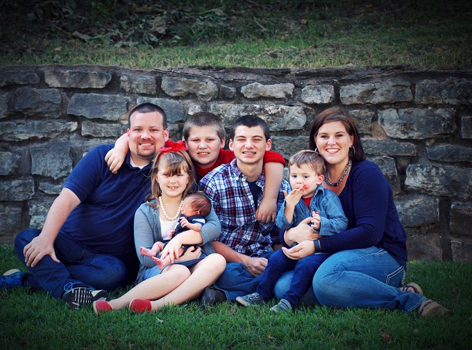 5 Minutes with a NWA Mom: An interview with a mama of 5, Kristen Hargett