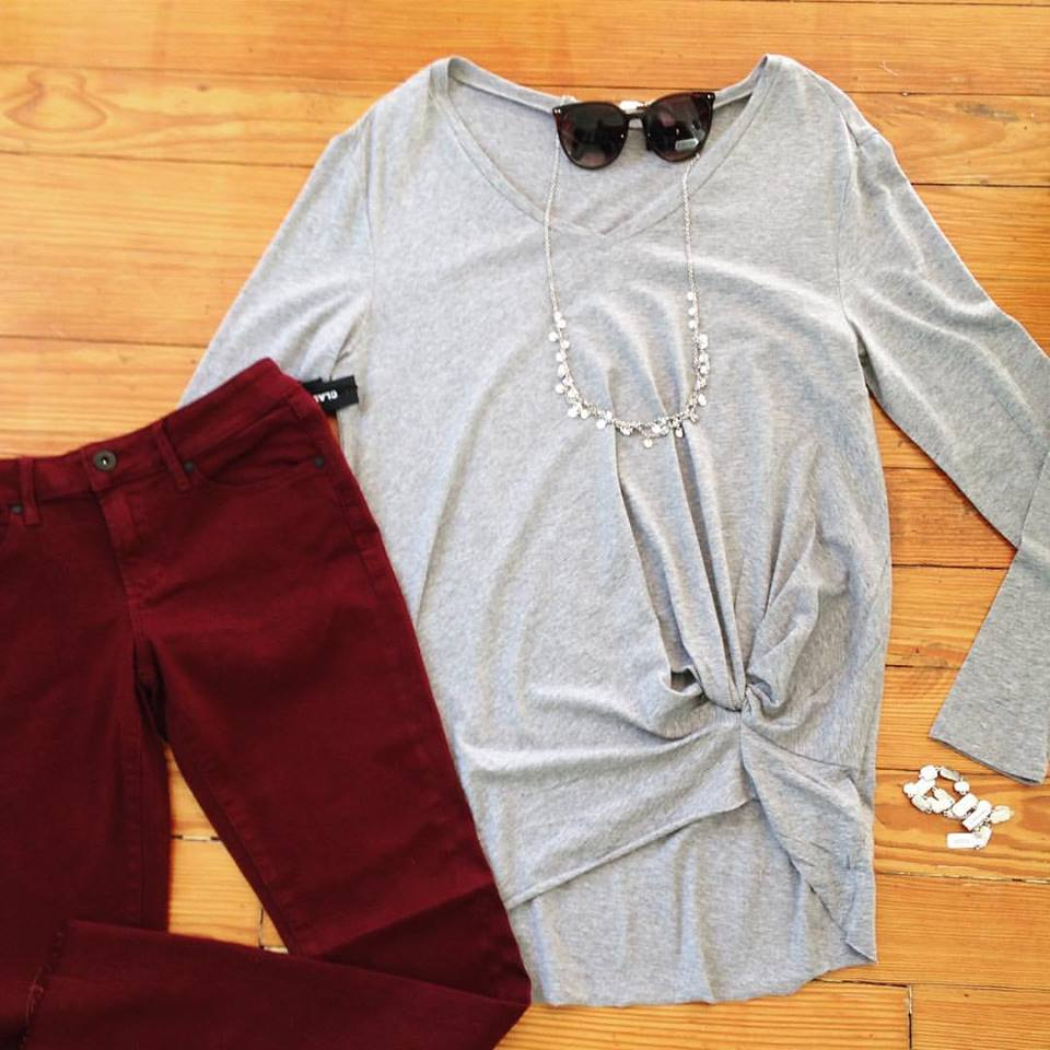 Such a cute outfit from Wit and Whimsy!