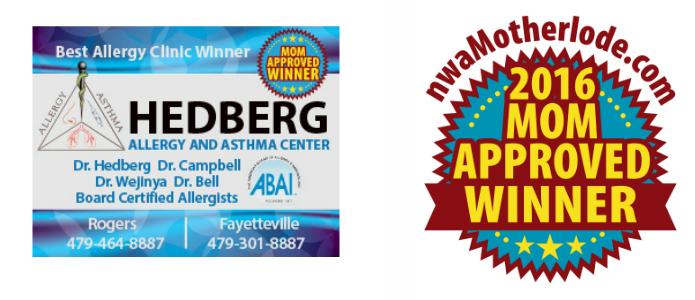 Mom-Approved Award Winner: Hedberg Allergy & Asthma Center