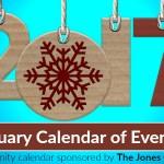 Northwest Arkansas Calendar of Events: January 2017