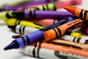 crayons, fpl