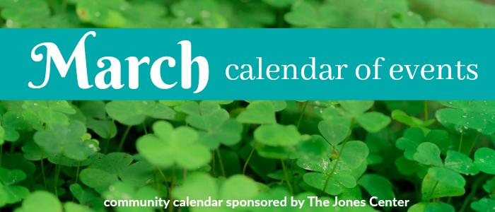 March calendar slider