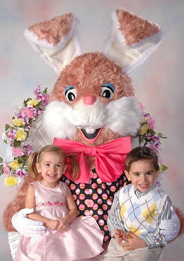 Easter bunny, NWA Mall