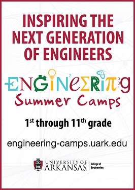 Engineering Camp, UofA, Summer Camp 2017 FINAL ad