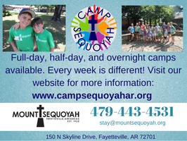 Mt. Sequoyah ad, Summer Camp