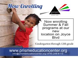 Prism Education Center, 2017