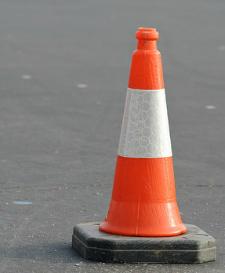 orange cone highway2