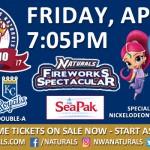 Nickelodeon's Shimmer and Shine at NWA Naturals Game April 21st