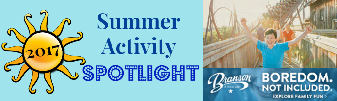 Branson Summer Activity Spotlight Banner