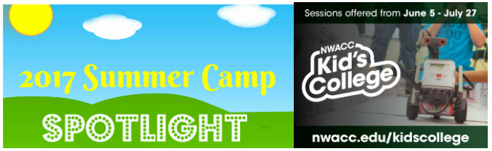 Kids College summer spotlight banner