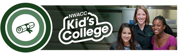 NWACC Kids College header