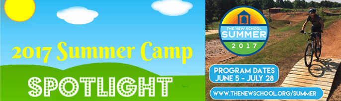 New School Summer Camp Spotlight banner