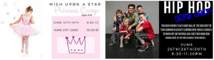 The Movement Dance summer camps