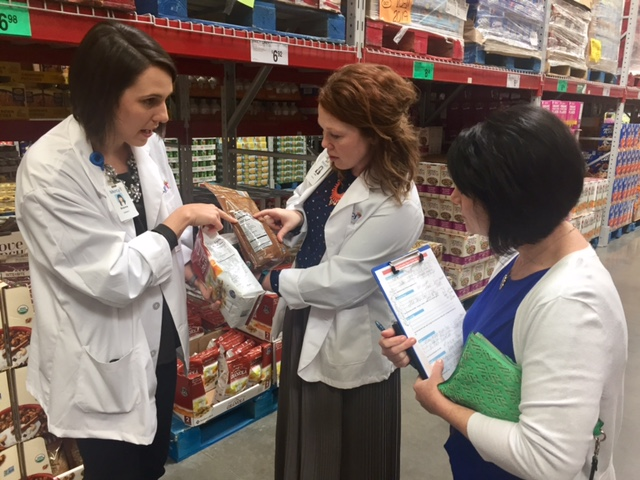 Wish you had a dietitian to help you shop? Mercy and Sam's Club have teamed up to help!