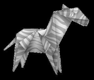 zebra origami