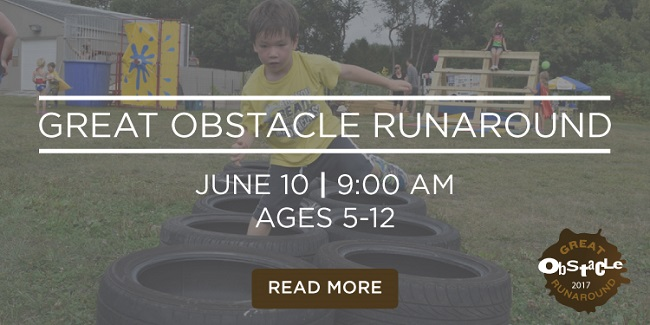 Giveaway: Win family passes for the Great Obstacle Runaround + swimming at the Jones Center!