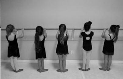 High pointe little dancers