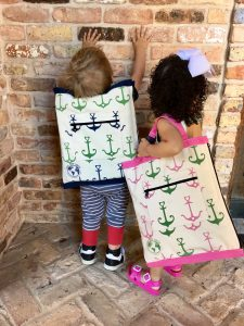 Kids with Totes