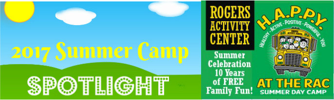 RAC Summer Camp Spotlight banner