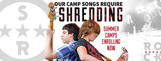 School of Rock, shredding