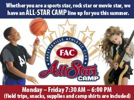 all star camp at FAC