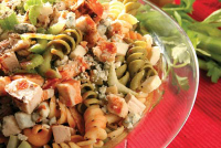 buffalo chicken pasta salad200